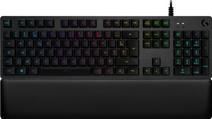 Logitech G513 Carbon Lightsync RGB Mechanisch Gaming Toetsenbord met polssteun Azerty