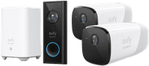 Eufy by Anker Video Doorbell Battery Set + Eufycam 2 Duo Pack
