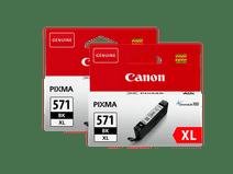 Canon CLI-571XL Cartridges Fotozwart Duo Pack