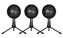 Blue Snowball Black Ice 3 pack