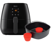 Philips Airfryer XL HD9260/90 + bakmeesterset HD9945/01