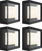 Philips Hue Econic Wandlamp Modern Buiten 4-Pack