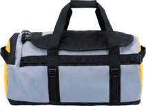 The North Face Gilman Duffel M 71L Black/Mid Grey/TNF Yellow