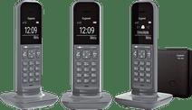 Gigaset CL390A Duo Grijs + Extra handset