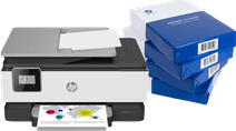 HP OfficeJet 8017 + Instant Ink + A4 paper