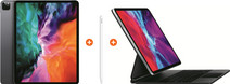 Apple iPad Pro (2020) 12,9 inch 256 GB Wifi Space Gray + Magic Keyboard AZERTY + Pencil