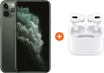 Apple iPhone 11 Pro 256 GB Midnight Green + Apple AirPods Pro with Wireless Charging Case