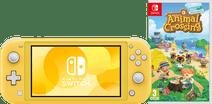 Nintendo Switch Lite Geel Animal Crossing Bundel