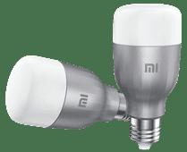 Xiaomi Mi LED SmartBulb E27 wit en kleur Duo Pack