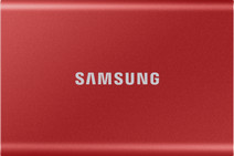 Samsung T7 Portable SSD 2TB Rood