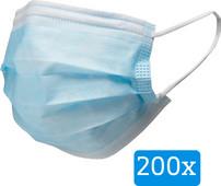 Masque Type IIR (200 pièces)