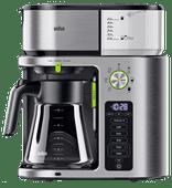 Braun KF9170SI MultiServe Coffee Machine Stainless Steel/Silver