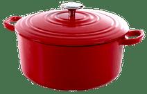 BK Bourgogne Cocotte 24 cm Chili Red