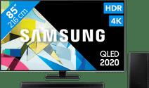 Samsung QLED 85Q80T + Barre de son