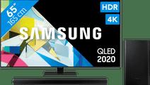 Samsung QLED 65Q80T + Barre de son