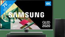 Samsung QLED 75Q74T + Barre de son