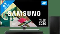 Samsung QLED 65Q74T + Barre de son