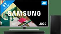 Samsung QLED 55Q74T + Barre de son