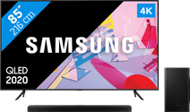 Samsung QLED 85Q60T + Barre de son