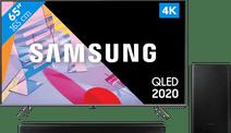 Samsung QLED 65Q64T + Soundbar