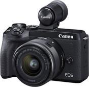 Canon EOS M6 Mark II Black + 15-45mm + EVF-DC2