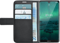 Azuri Wallet Nokia 1.3 Book Case Zwart