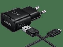 Samsung Chargeur avec Câble USB-C 1,5 m Adaptive Fast Charge 15 W Noir