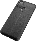 Just in Case Soft Design Samsung Galaxy M21 Back Cover Zwart