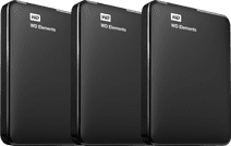 WD Elements Portable 2TB 3-Pack