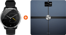 Withings Move ECG Silver/Black + Withings Body + Black