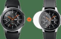 Samsung Galaxy Watch 46mm Silver + PanzerGlass Samsung Galaxy Watch 46mm Screenprotector
