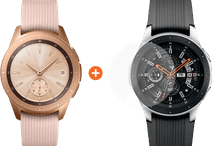 Samsung Galaxy Watch 42mm Rose Gold + PanzerGlass Galaxy Watch 42mm Screen Protector
