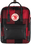 Fjällräven Kånken Re-Wool Red-Black 16 L