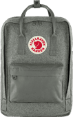 "Fjällräven Kånken Re-Wool 15"" Granite Grey 18 L"