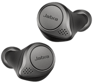 Jabra Elite 75t WLC met draadloos opladen Titanium Zwart