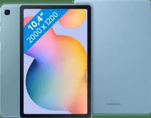 Samsung Galaxy Tab S6 Lite 128GB Wifi Blauw + Samsung Book Case Blauw