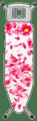 Brabantia Strijkplank B 124 x 38 cm Pink Santini met strijkijzerhouder