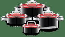 WMF Fusiontec Functional Cookware Set 4-piece