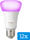 Philips Hue White and Color E27 Bluetooth 12-Pack