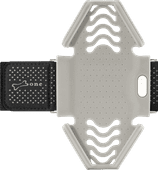 BoneCollection Run Sportarmband Tie-Gray (S)