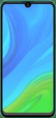 Azuri Rinox Case Friendly Huawei P Smart (2020) Screenprotector Glas Zwarte Rand