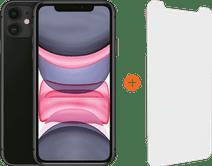 Apple iPhone 11 64 Go Noir + InvisibleShield Glass Elite Vision+ Protège-écran
