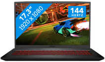 MSI GF75 10SCXR-243BE Azerty