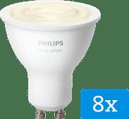 Philips Hue White GU10 Bluetooth 8-Pack