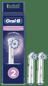 Oral-B Sensitive Clean Opzetborstel 2 Stuks