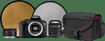 Canon EOS 2000D - Starterskit + Portretlens