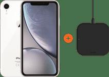 Apple iPhone Xr 64 GB Wit + ZENS Slim Line Draadloze Oplader