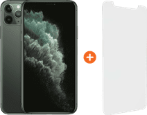 Apple iPhone 11 Pro Max 256 Go Vert Nuit + InvisibleShield Visionguard Protège-écran