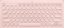 Logitech K380 Draadloos Toetsenbord AZERTY Roze