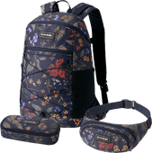 Dakine WNDR Pack 18L Botanics PET + School Case + Hip Pack